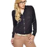 camisa feminina de renda preta 9