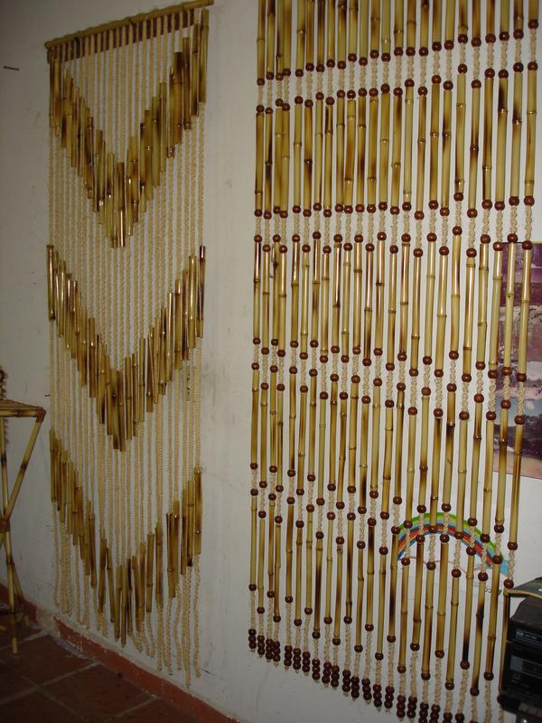 Cortinas de bambu um tem decorativo interessante moda - Cortina de bambu ...