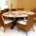 mesa de jantar redonda 7