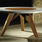 mesa de jantar redonda 8