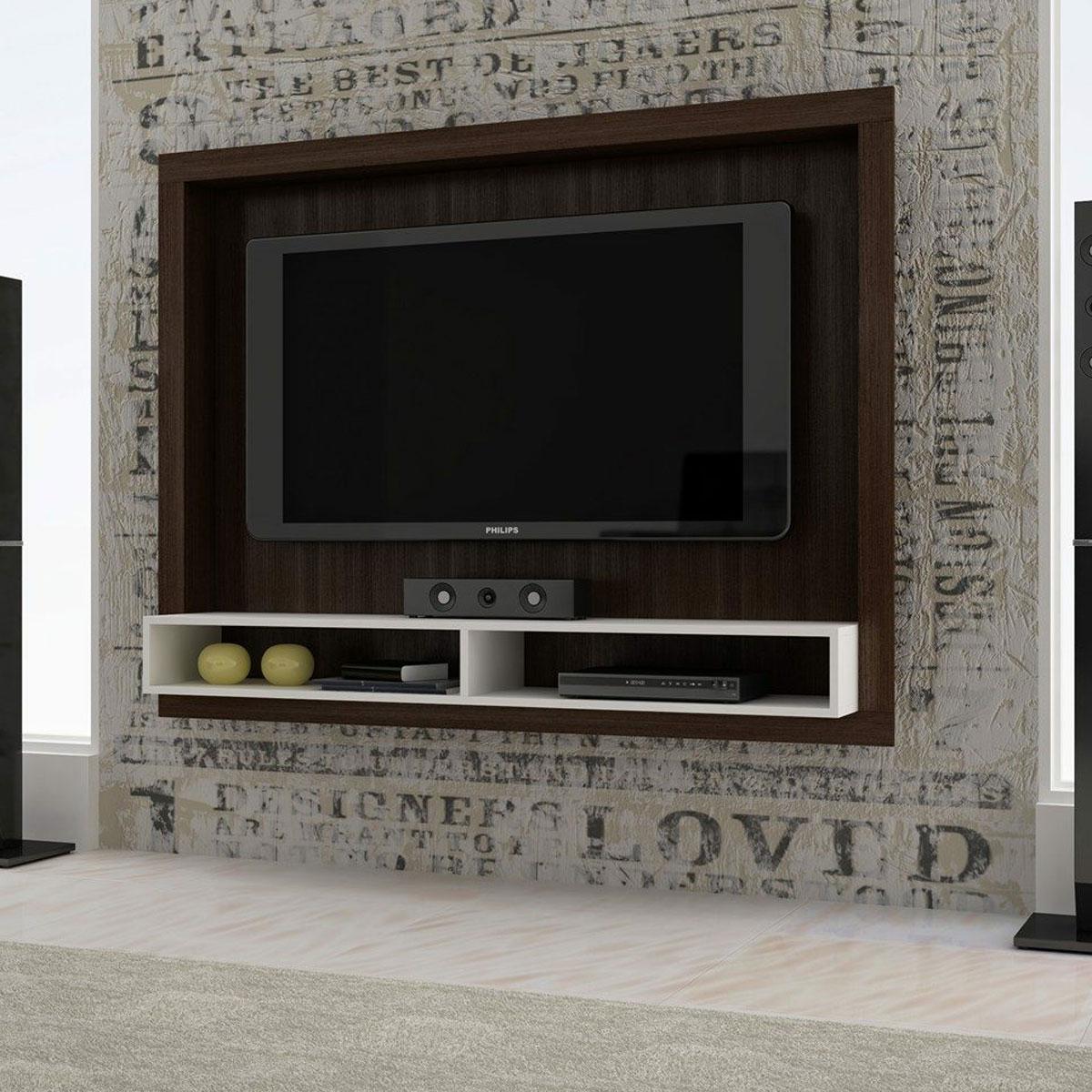Painel para tv modelos que trazem conforto e charme na for Sala de estar television