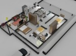 planta de casa 2d 4