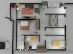 planta de casa 3d 6