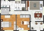 planta de casa 3d 7