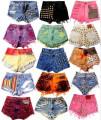 shorts feminino  colorido 5