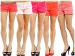 shorts feminino  colorido 6