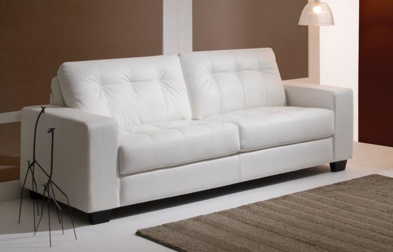 Um m vel de luxo o sof branco vamos ver modelos moda - Modelos de cojines para sofas ...