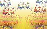 borboletas coloridas 2