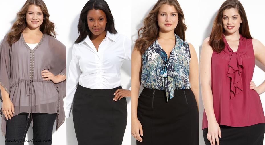 04d617a31 Looks plus size da moda atual lindos que vestem bem - Moda e ...