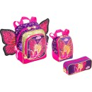 mochila barbie butterfly 7