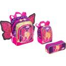 mochila barbie butterfly 7