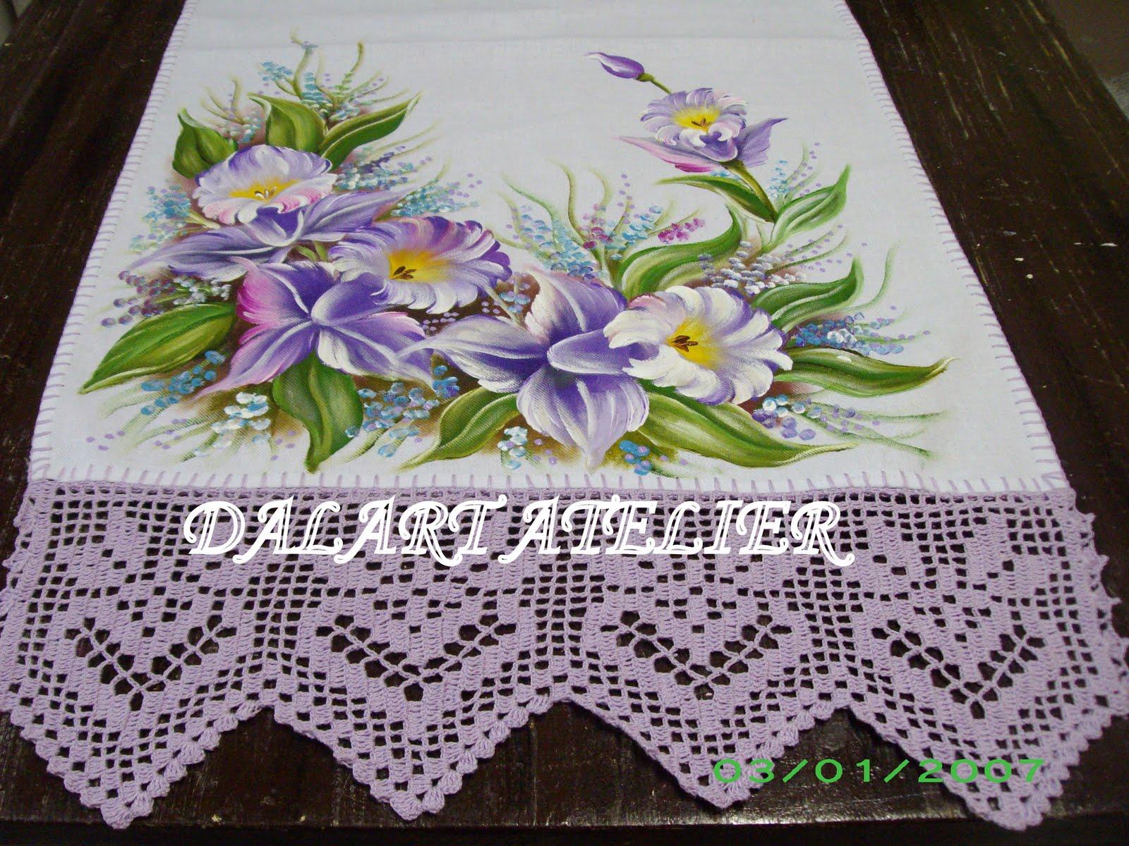 lindos panos de pratos | Atelier Ilda Croches | Elo7