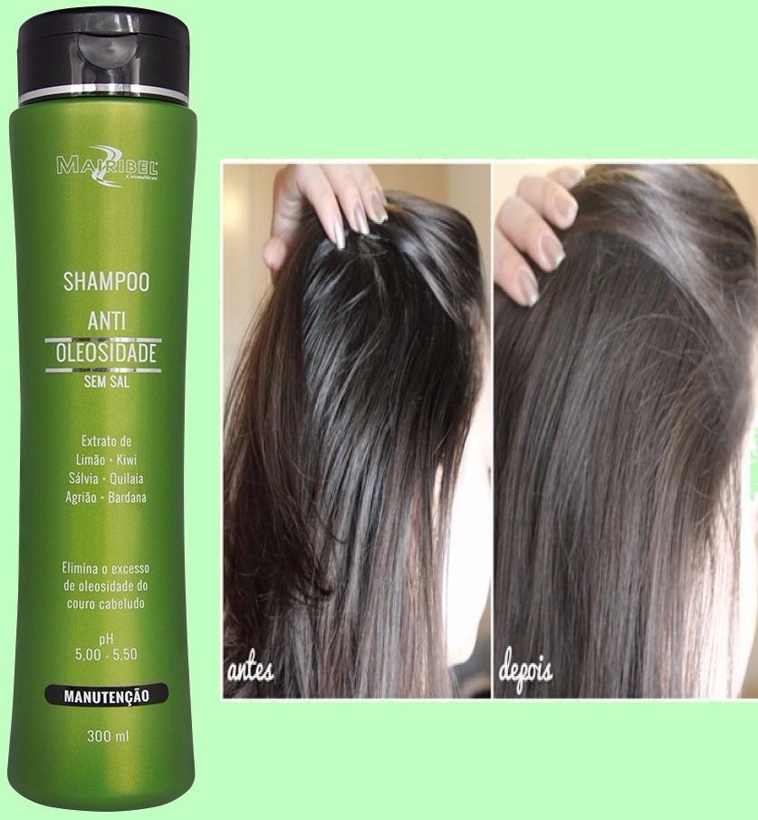 shampoo para uso em cabelos oleosos