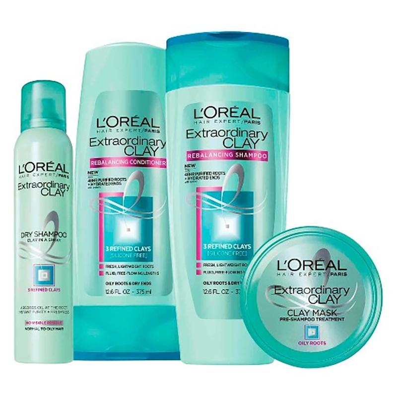 shampoo em kit  uso em cabelos oleosos