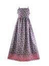 vestido estampado barrado longo 3