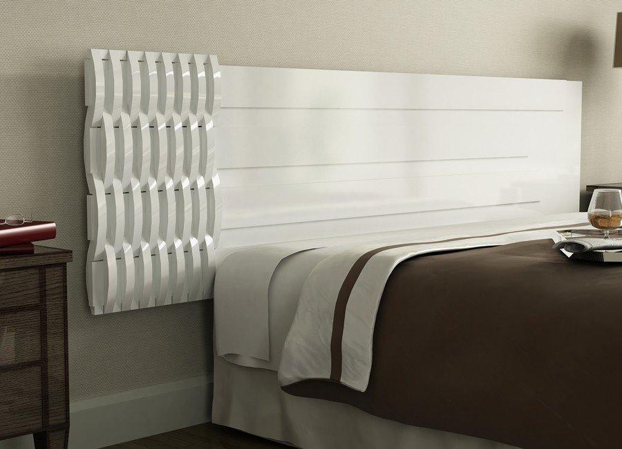 cabeceira para cama branca