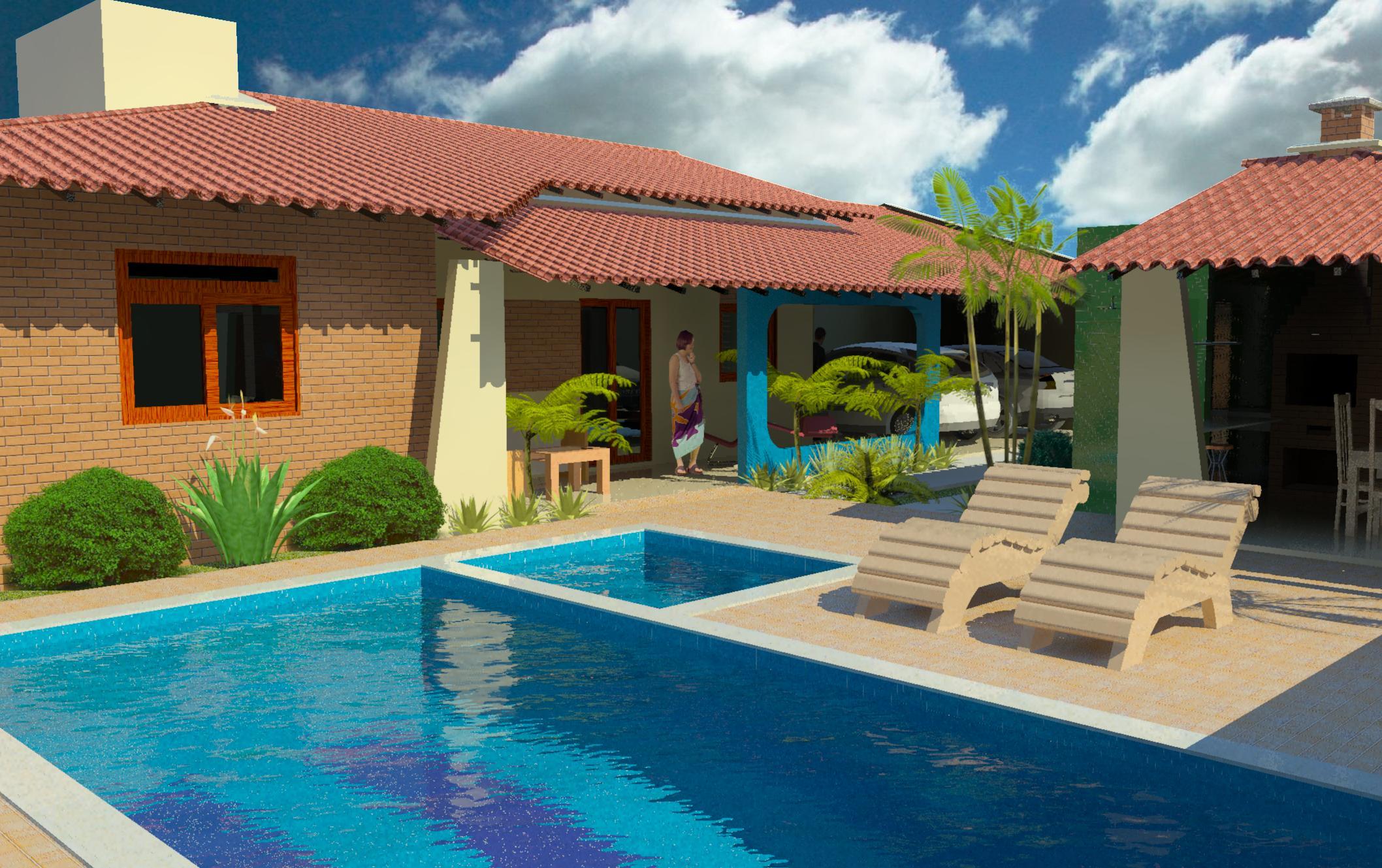 Casa com piscina descubra o conforto que pode causar for Piscinas para armar en casa