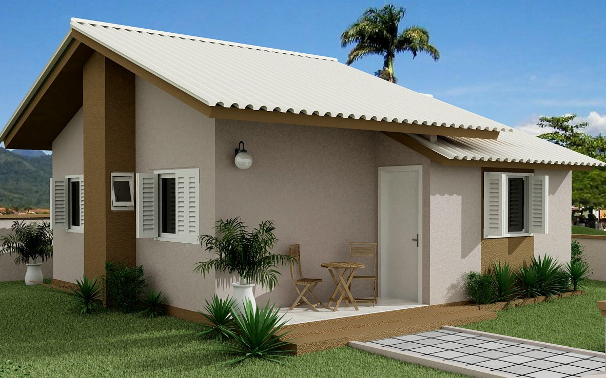 Lindos modelos de casa terrea grande e pequena moda e - Casas de moda ...