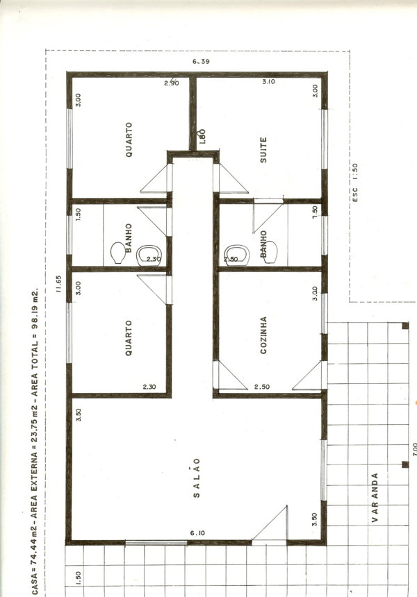 Como construir uma casa projeto material e m o de obra for Tipos de casas para construir