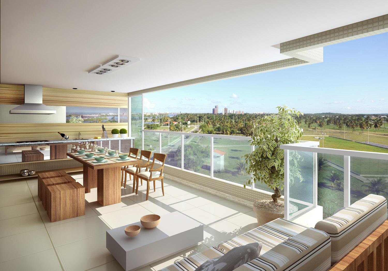 Dicas para decoração de terraço, muito charme e cor - Moda e