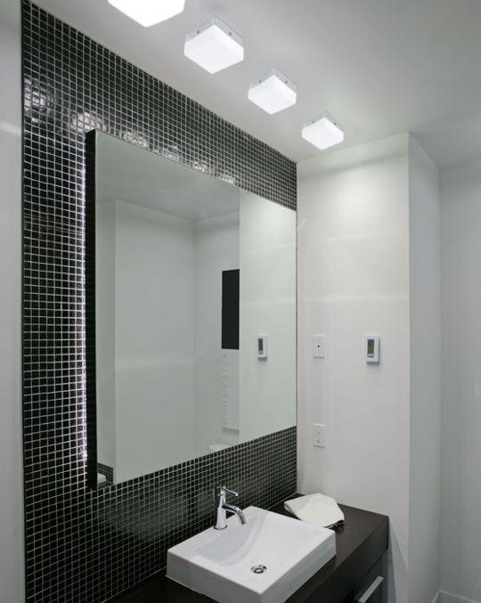 Ilumina o para banheiro pequeno como deve ser moda e confortomoda e conforto - Illuminazione bagno moderno ...