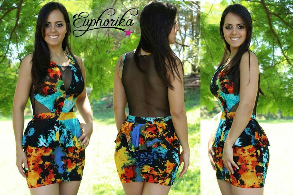 307d43fecb moda feminina vestido curto 1 ...