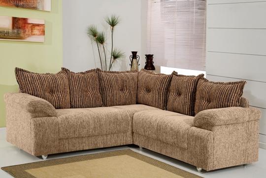 Sofa Para Sala Pequena Casas Bahia ~ Sofá de canto, fotos de modelos modernos e uteis  Moda e