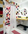 banheiro pequeno colorido 7