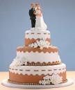 bolo de casamento com noivinhos 3