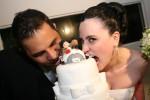 bolo de casamento com noivinhos 4