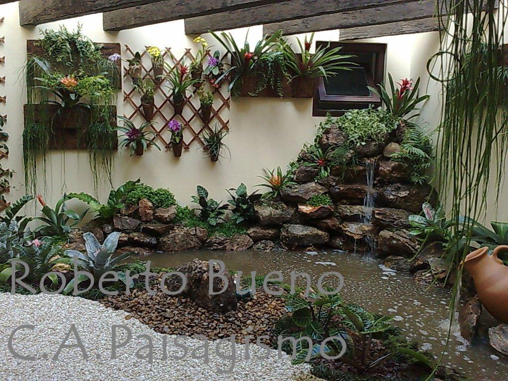 Cascata de jardim, instalar uma dessas para mais beleza - Moda e ConfortoModa e Conforto