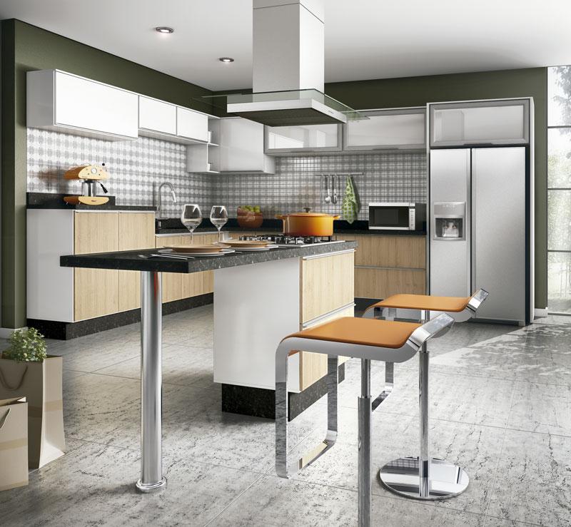 Ilha Cozinha Altura - Cozinha com ilha torna o ambiente mais confortável  Moda e ConfortoModa e Co