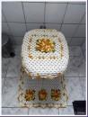 jogo de croche para banheiro 3