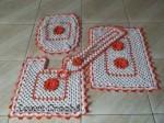 jogo de croche para banheiro 4