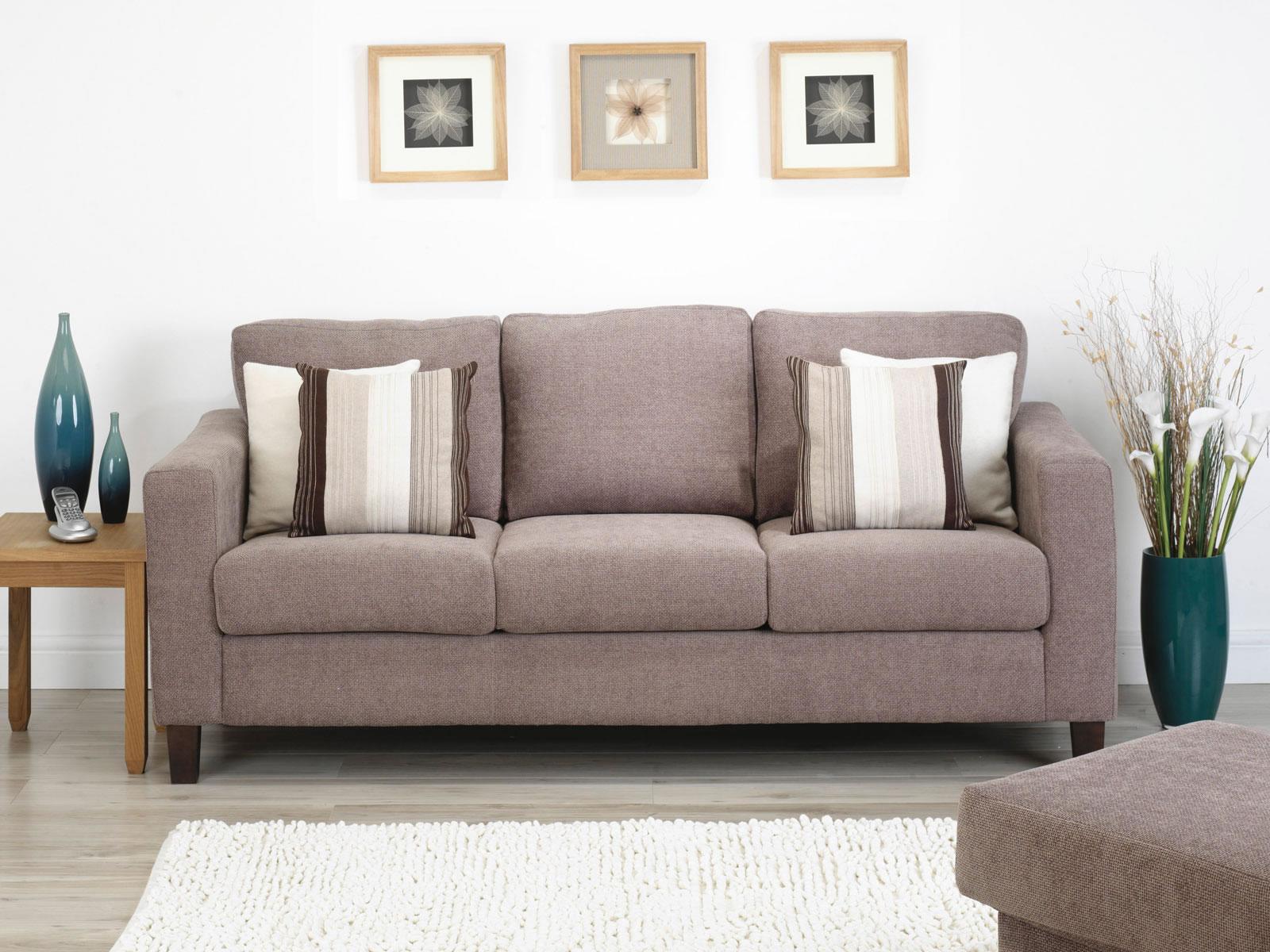 Sofá com almofadas lindas combinações que decoram Moda e  #2A515D 1600x1200