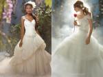 vestido de noiva tipo princesa
