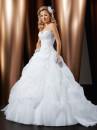 vestido modelo princesa para noiva