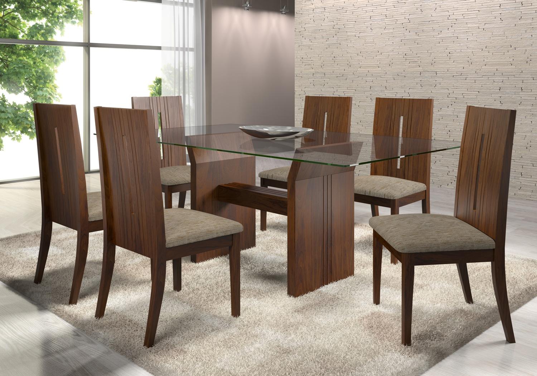 Mesas De Jantar Pequenas E Modernas Imagem Para Um Ambiente Mais  -> Sala De Jantar Pequena Com Mesa De Marmore