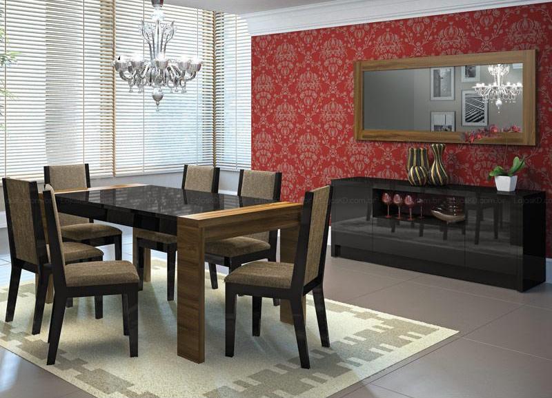 Conjunto Sala De Jantar Com Banco ~ Conjunto de sala de jantar, são várias peças  Moda e ConfortoModa