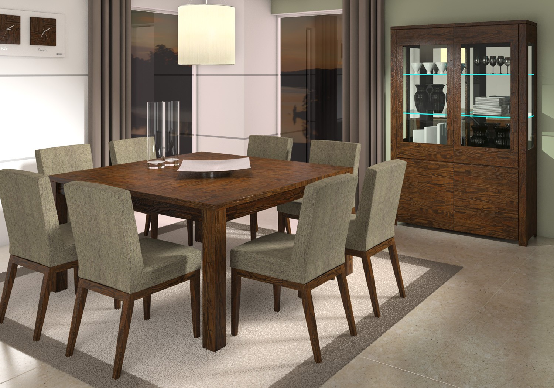 Conjunto de sala de jantar são várias peças Moda e ConfortoModa  #36958C 1500x1050