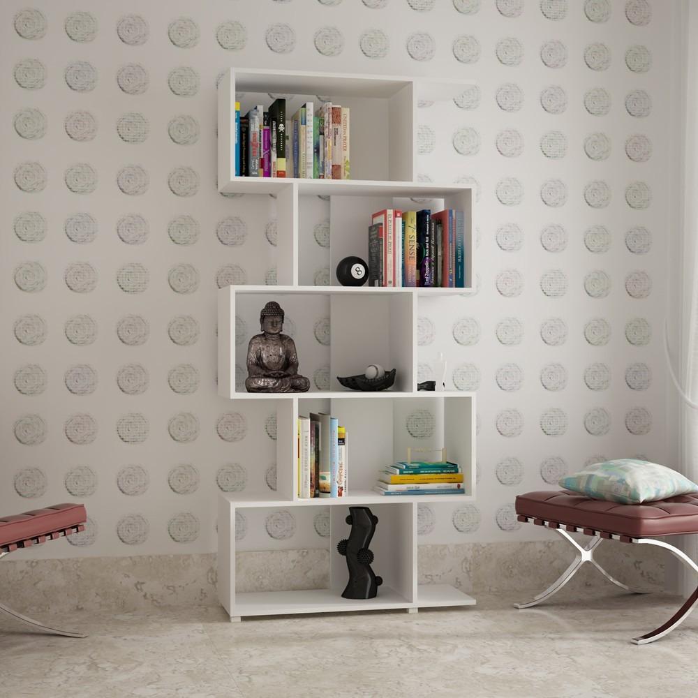 Estantes para livros, os modelos estão diferentes e modernos - Moda e ...