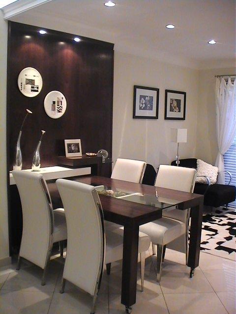 Sala De Jantar Vidro Preto ~ Fantástica mesa de jantar 4 lugares para uma sala muito elegante