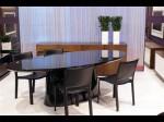 mesa de jantar oval 2