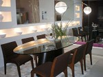 mesa de jantar oval 7