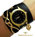 pulseiras de couro para relogios femininas 8