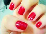 unhas vermelhas varias tonalidades 1