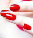 unhas vermelhas varias tonalidades 4