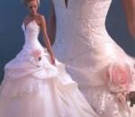 vestido de noiva rosa 1