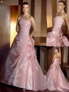 vestido de noiva rosa 2