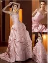 vestido de noiva rosa 3